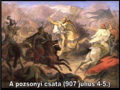 907-es pozsonyi csata - animációs film