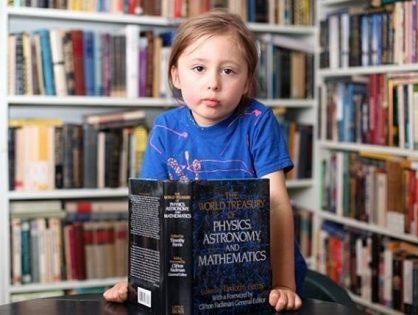 A világ legokosabb öt éves gyereke