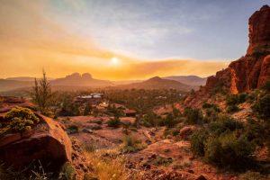 USA Arizóna napsütés
